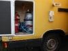 Gaskasten mit Platz für zwei 11kg Gasflaschen, Abgaskamin Boiler und Gasaußensteckdose